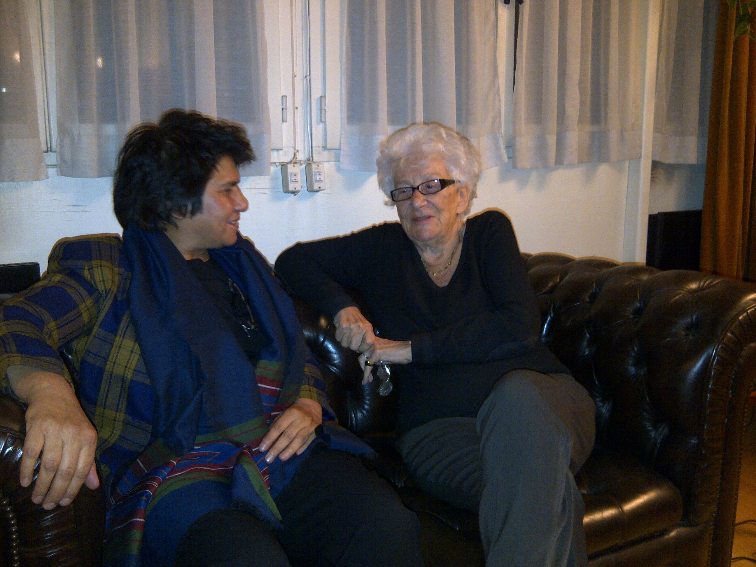 Yvette Roudy et Shoukria Haïdar le  8.11.2014