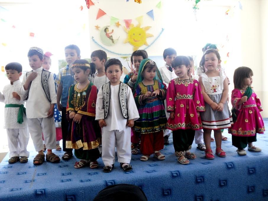 Fête des enfants au Kodakistan de Kaboul